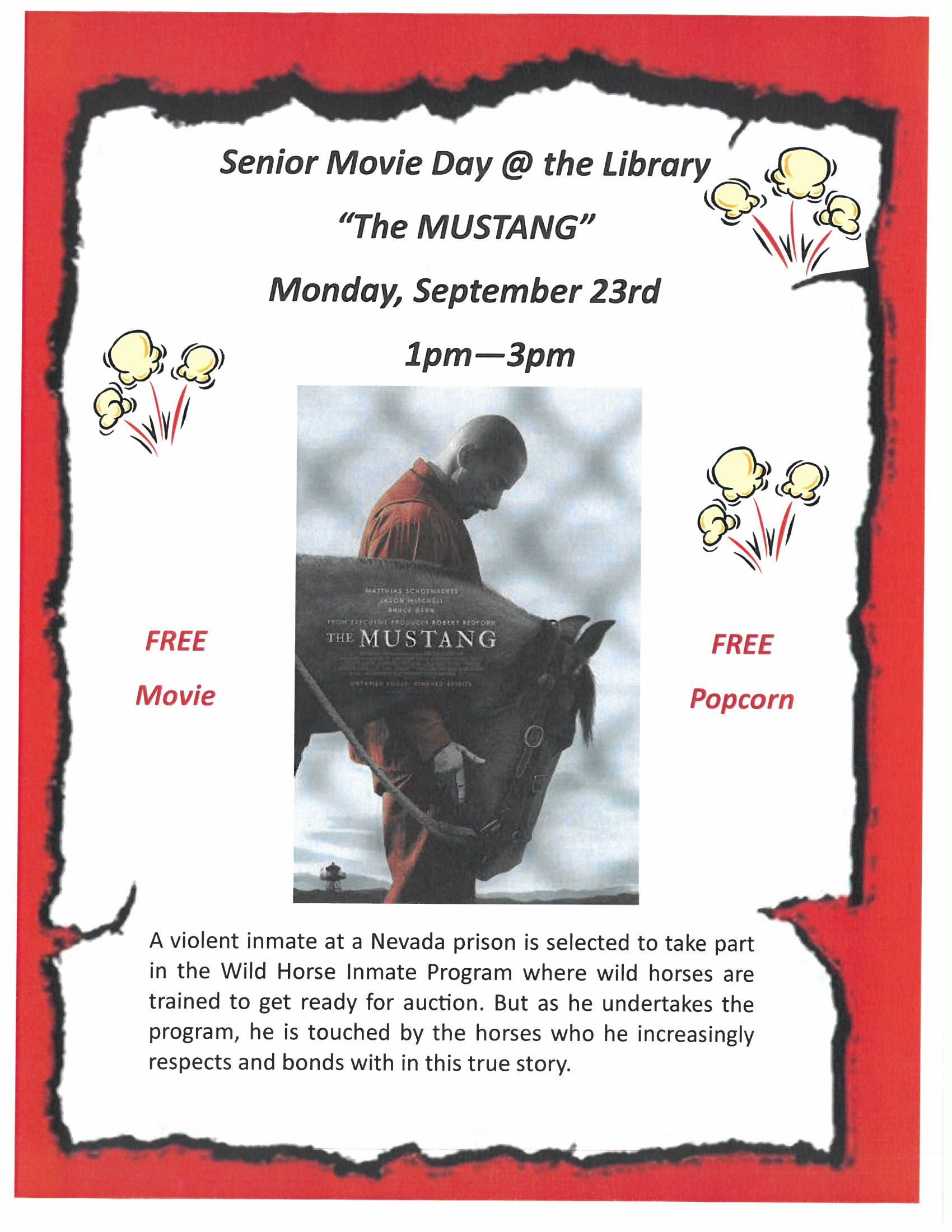Senior Movie Day 8-23-19