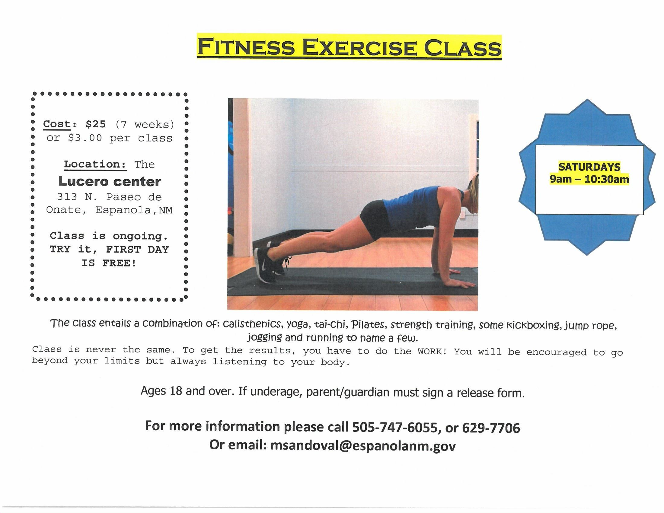 Fitness Exercise Class