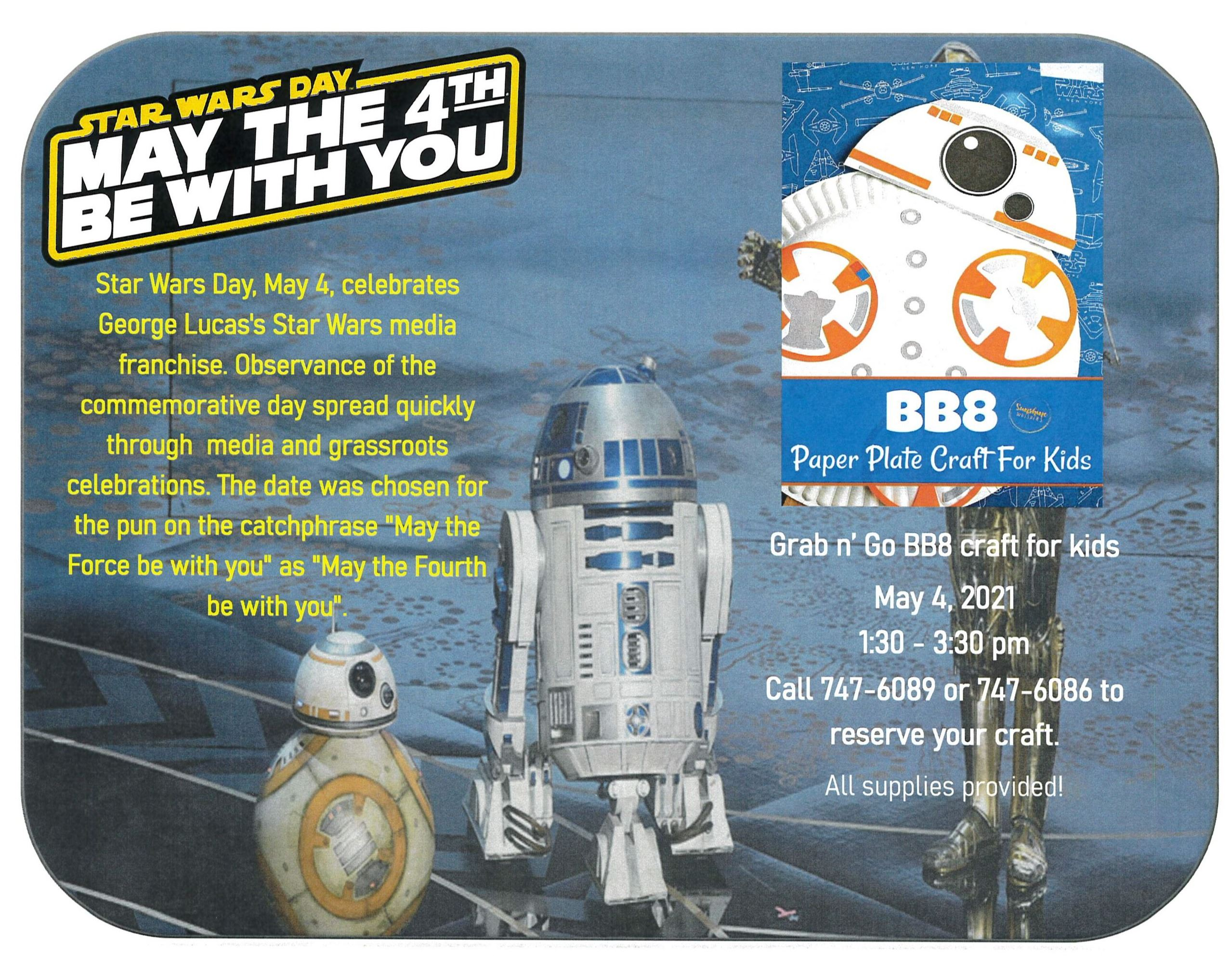 BB8 Craft